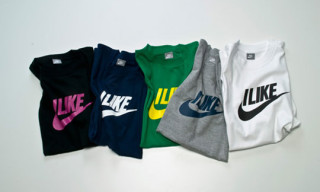 "Nike Sportswear Meets Beams T ""Sports Is Art"": ""I Like"" T-Shirts"