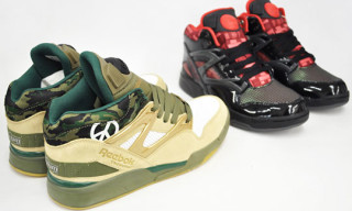 "Reebok Kubrick Pack – Pump Omni Lite ""Full Metal Jacket"" and Pump Omni Lite ""2001: A Space Odyssey"""