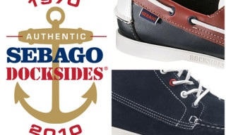 Sebago Docksides 40th Anniversary