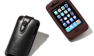 CLS x Stussy Leather iPhone Case