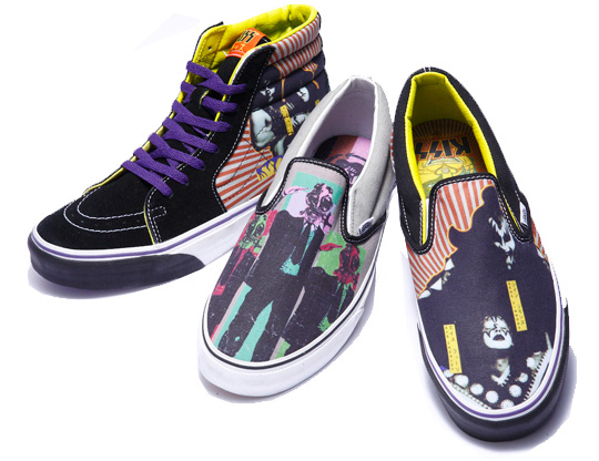 e75c6eddbc hot sale 2017 Vans x KISS Hotter Than Hell Spring 2010 Pack Highsnobiety
