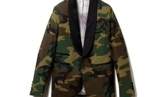 Dead Meat Camo Tuxedo Jacket