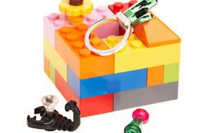 Dee & Ricky x M & M Interchangeable LEGO Rings