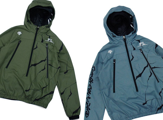 Futura Laboratories x Descente Spring/Summer 2010 Pullover Jacket ...