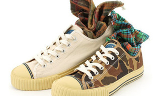 Left Field x US Pro-Keds Canvas Sneakers