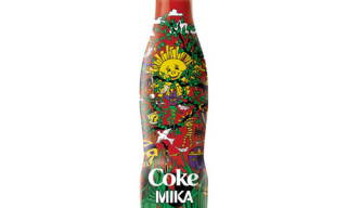 "Mika x Coca Cola ""Happiness Bottle"""