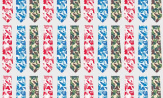 Mr. Bathing Ape by United Arrows Camo Ties