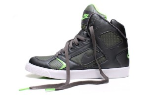 Nike Auto Flight High – Gray/Electric Green