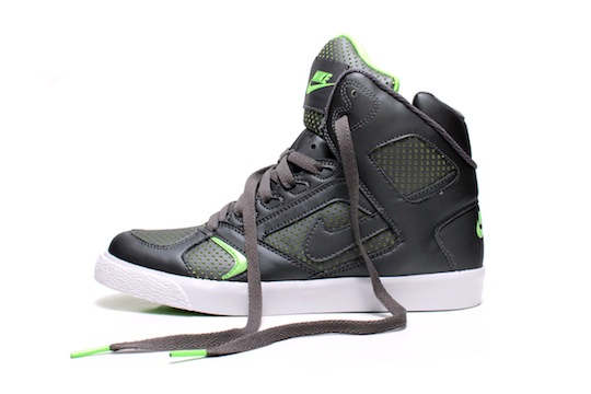 quality design 9dbe2 31a94 Nike Auto Flight High - GrayElectric Green Highsnobiety