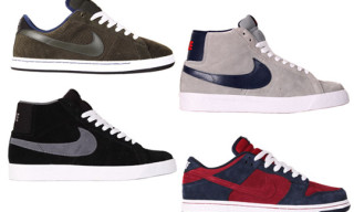 Nike SB April 2010 Releases – Dunk Low, Blazer, Classic SB