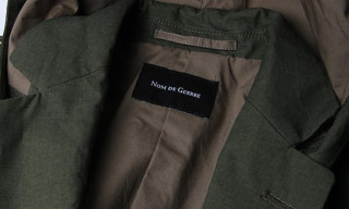 Nom de Guerre Spring/Summer 2010 Hooded Blazer