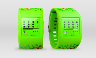 Nooka x Mad Toy SLIMEBALL Sqwert Watch