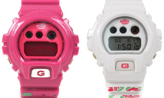 "Pegleg NYC x G-Shock ""Watermelon"" & ""Rose"" Watches"