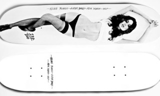 "SHUT x Milk Studios ""Nicole Trunfio"" Skateboard"
