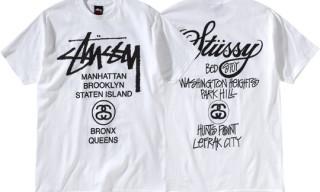 Stussy New York World Tour T-Shirt