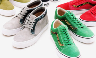 Supreme x Vans Spring 2010 Collection – Chukka Boot & Old Skool