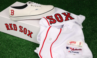 Vans Vault x MLB Boston Red Sox Authentic LX for Bodega