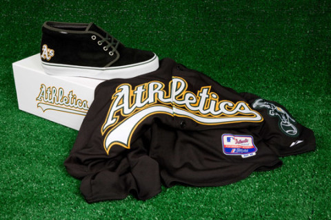 689a2f41b5 Vans Vault x MLB Oakland Athletics Chukka LX for Bows   Arrows