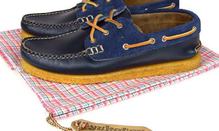 Yuketen Athletic Sole Boat Shoe