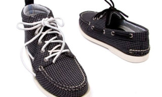 Band of Outsider for Sperry Topsider Checker Pack Spring/Summer 2010
