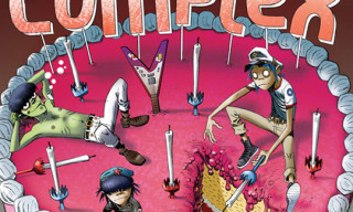 The Gorillaz on Complex Magazine April/May 2010 Cover