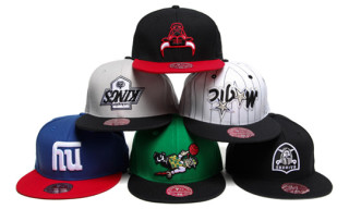 "Hall of Fame x Mitchell & Ness ""Upside Down"" Cap Series"