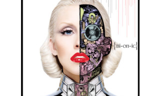 "D*Face x Christina Aguilera ""Bionic"" Album Cover"