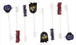 Lanvin Autumn 2010 Embroidered Tie Pins