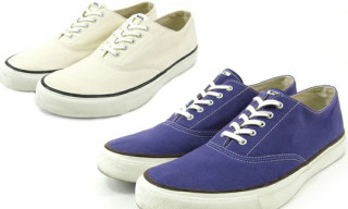 MHL x Sperry Topsider Washed Oxford Sneakers
