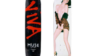 Muse Magazine x Terry Richardson x Art Print Skateboard Deck