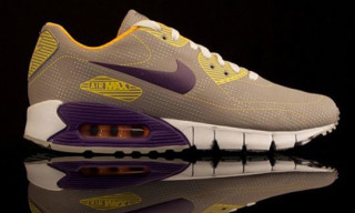 Nike Spring 2010 Air Max 90 Current Moire Grey/Purple