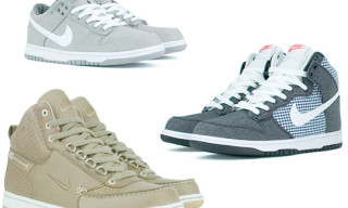 Nike Summer 2010 Footwear – Dunk, Mad Jibe, Blazer