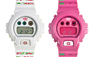 """PEGLEG NYC x G-Shock """"Rose"""" and """"Watermelon"""" Watches – A Detailed Look"""