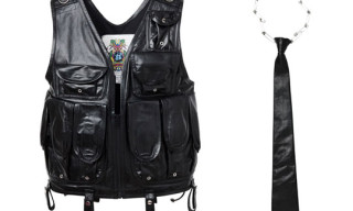 Phenomenon Spring/Summer 2010 – Leather Army Vest and Neck Ties