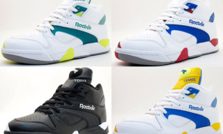 "Reebok Court Victory Pump ""Bring Back Pack"" Spring/Summer 2010"