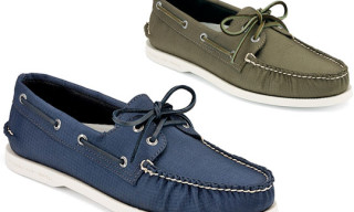 Sperry Topsider Original Rip Stop Boat Shoe Spring/Summer 2010