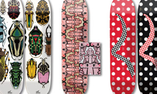 Stacks Skateboard Decks by Eric Elms and Reese Forbes