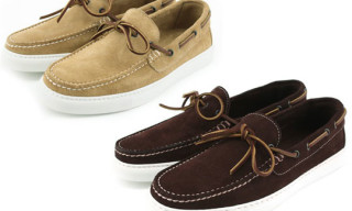 Stokton for Beauty & Youth Suede Deck Shoes