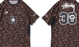Stussy x F.C.R.B. Leopard Game Shirt
