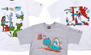 Stussy x Gary Panter Spring 2010 T-Shirts