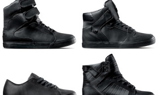 Supra Black Satin TUF Pack Spring 2010
