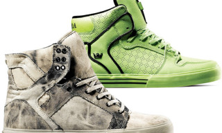 "Supra Spring 2010 Releases – Skytop ""Acid Wash"" and Vaider ""Tennis Ball"""