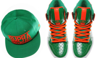 "Supra St. Patrick's Day ""Clover"" Pack – Vaider Hi and Cap"
