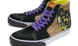 "Vans x KISS ""Hotter Than Hell"" Spring 2010 Sk8 Hi"
