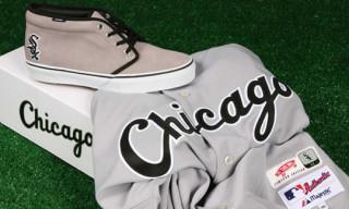 Vans Vault x MLB Chicago White Sox Chukka LX for St. Alfred