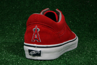 f64e30370bc5 Vault by Vans x MLB Anaheim Angels Old Skool LX for Blends ...