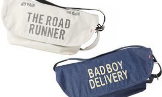 Bedwin x Cyclex Resistant Messenger Bags