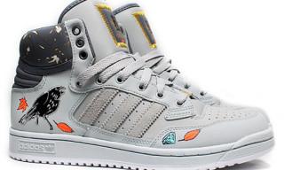 "Eric Bailey x adidas ""Wood Rich"" Centennial Mid"