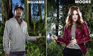 Kiehl's Earth Day 2010 Campaign by David LaChapelle – Pharrell Williams, Jeff Koons, Malia Jones, Julianne Moore
