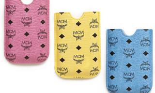 MCM Monogram iPhone Cases